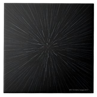 Warp Speed Movement Large Square Tile