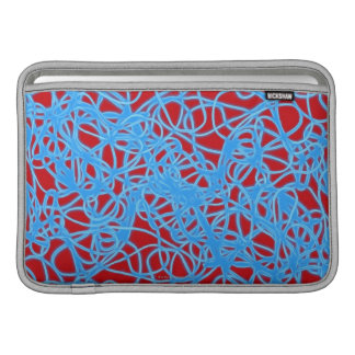 Warped Circles Sleeve For MacBook Air