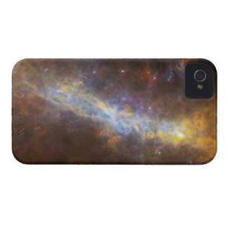 Warped Galactic Ring iPhone 4/4S Case