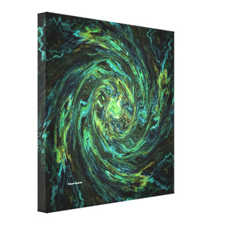 Warped Space Gallery Wrapped Canvas
