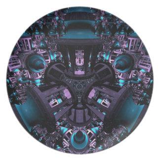 Warped Vision Plate