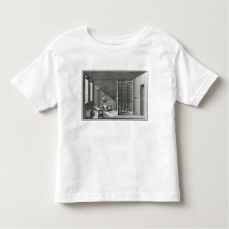 Warping silk threads, illustration Encylopedia Toddler T-Shirt