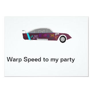 warptime invitation