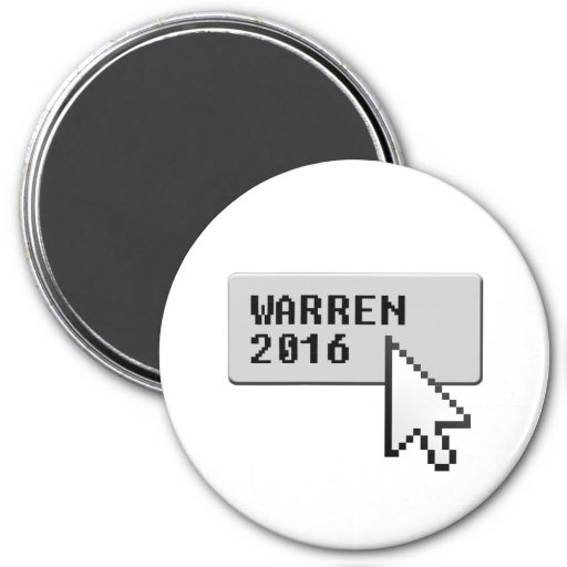 WARREN 2016 CURSOR CLICK REFRIGERATOR MAGNETS