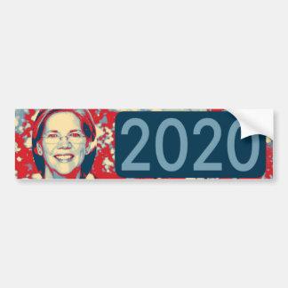 Warren 2020 bumper sticker