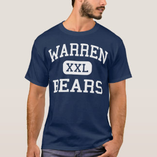 Warren - Bears - High School - Downey California T-Shirt