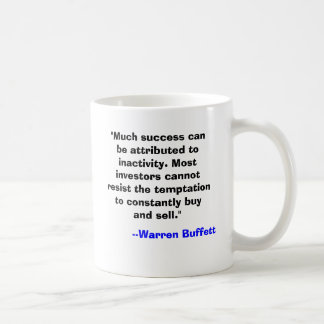 Warren Buffett Mug