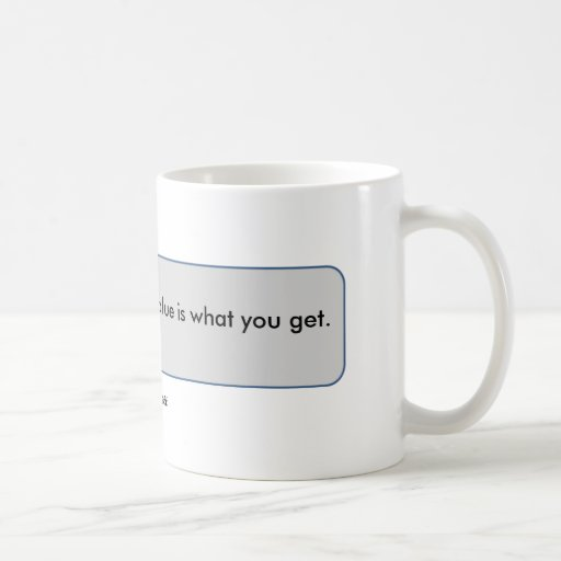 Warren Buffett Quote Price is what you pay value Mugs