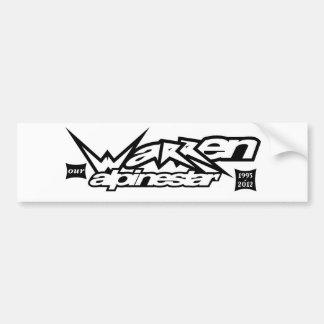Warren Our Alpinestar.jpg Bumper Sticker