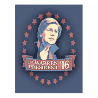 Warren Pres '16 Postcards