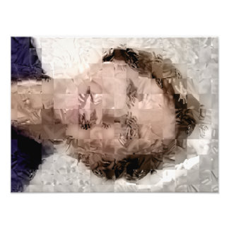 Warren rendered w/Hands - Photo Print