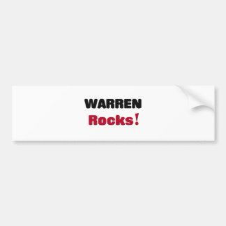 Warren Rocks Bumper Stickers