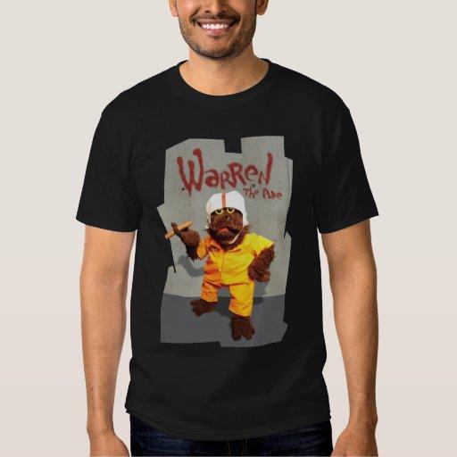 "Warren the Ape - ""Prison"" - dark apparel Tee Shirts"