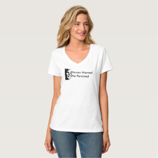 Warren Warned, She Persisted T-Shirt