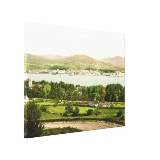 Warrenpoint I, County Down, Northern Ireland Stretched Canvas Print