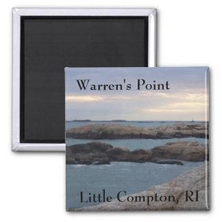 Warren's Point Beach, Little Compton, RI Magnet