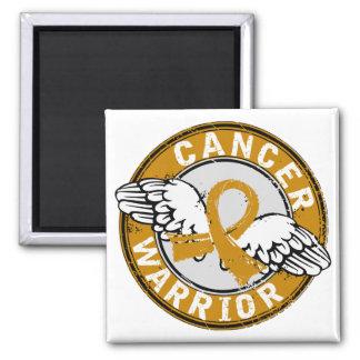 Warrior 14C Appendix Cancer Fridge Magnet