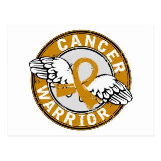 Warrior 14C Appendix Cancer Postcard