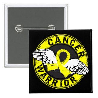 Warrior 14C Bladder Cancer 15 Cm Square Badge