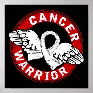 Warrior 14C Bone Cancer Poster