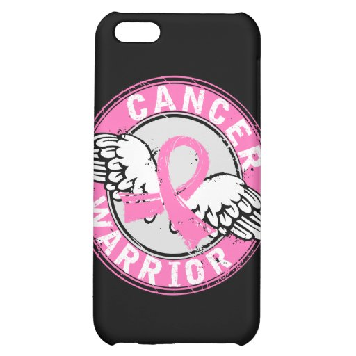 Warrior 14C Breast Cancer Case For iPhone 5C