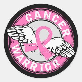 Warrior 14C Breast Cancer Stickers