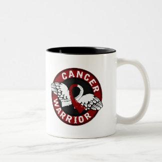 Warrior 14C Head and Neck Cancer Coffee Mugs