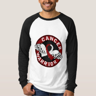 Warrior 14C Head and Neck Cancer T-shirts