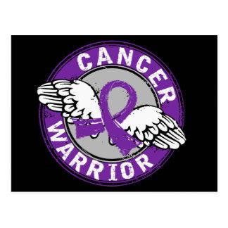 Warrior 14C Leiomyosarcoma Postcard
