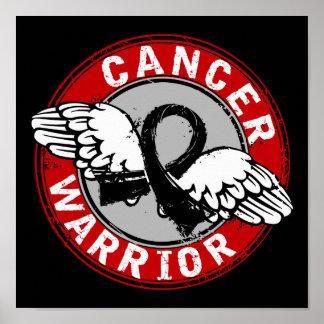 Warrior 14C Melanoma Poster