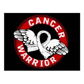 Warrior 14C Mesothelioma Postcard