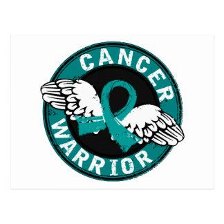 Warrior 14C Ovarian Cancer Postcard