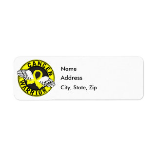 Warrior 14C Sarcoma Return Address Label