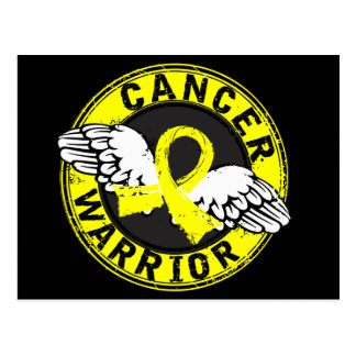 Warrior 14C Sarcoma Postcard
