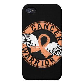 Warrior 14C Uterine Cancer iPhone 4 Cover