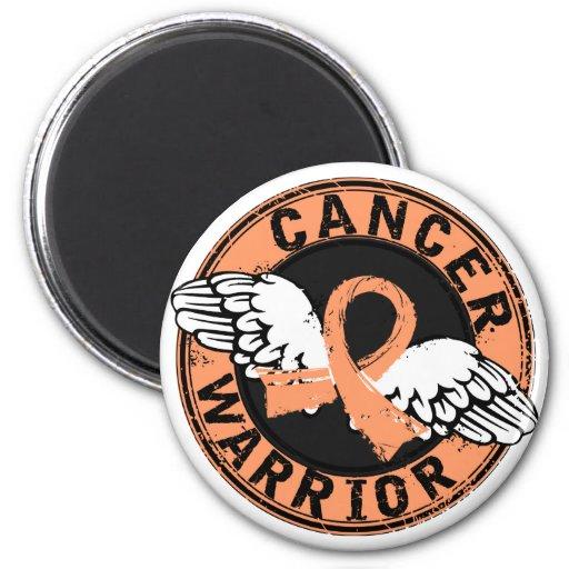 Warrior 14C Uterine Cancer Refrigerator Magnets