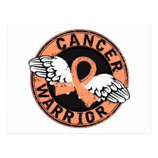 Warrior 14C Uterine Cancer Postcard
