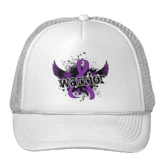Warrior 16 Alzheimer's Disease Hats