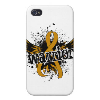 Warrior 16 Appendix Cancer iPhone 4/4S Cover