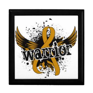 Warrior 16 Appendix Cancer Keepsake Boxes