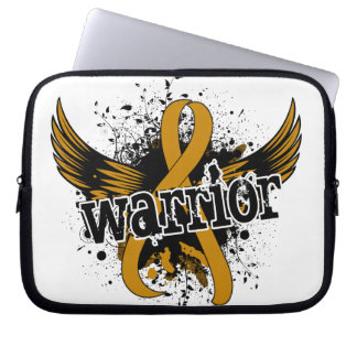 Warrior 16 Appendix Cancer Laptop Computer Sleeve
