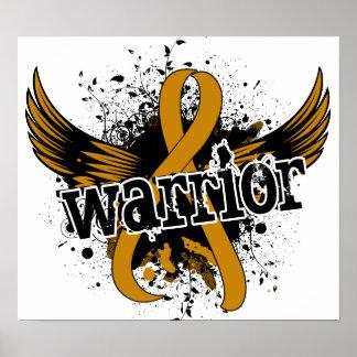 Warrior 16 Appendix Cancer Posters
