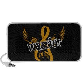 Warrior 16 Appendix Cancer iPhone Speakers