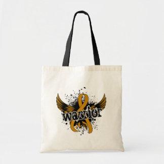 Warrior 16 Appendix Cancer Tote Bags