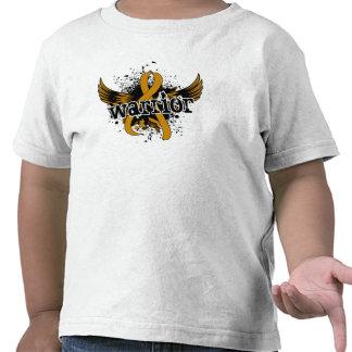 Warrior 16 Appendix Cancer T-shirt