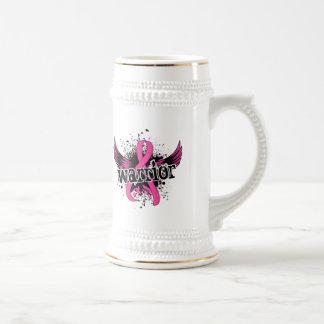Warrior 16 Breast Cancer Beer Steins