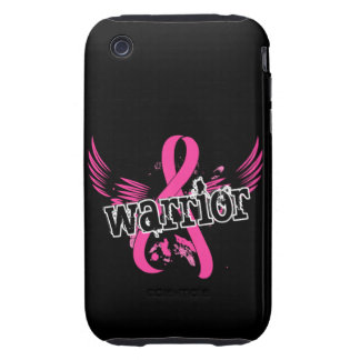 Warrior 16 Breast Cancer Tough iPhone 3 Case