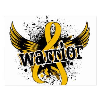 Warrior 16 Childhood Cancer Postcard