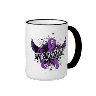 Warrior 16 Crohn's Disease Ringer Coffee Mug