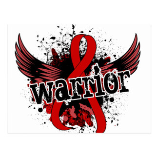 Warrior 16 Heart Disease Postcard